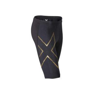 2XU Elite Men MCS Compression Shorts Black-Gold