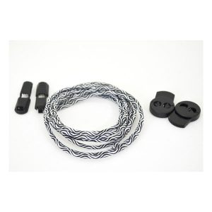 Aviss Shoelace Water Wave Lock Laces_Black1