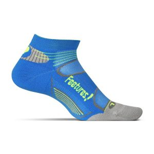 Feetures Elite Light Cushion Low Cut_Brilliant Blue-Reflector
