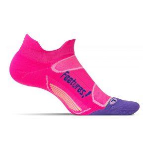 Feetures Elite Light Cushion Socks No Show_Pink Pop-Iris