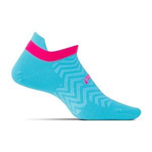 Feetures HP Ultra Light Cushion Socks No Show_Sky Blue