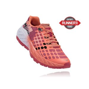 Hoka One One Women's CLAYTON_Teaberry-Neon Coral