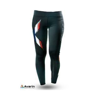 2XU Womens Mid-Rise Compression Tights_Black-Thailand_1