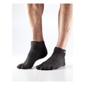 Toesox_LightWeight Ankle_Brindle Black