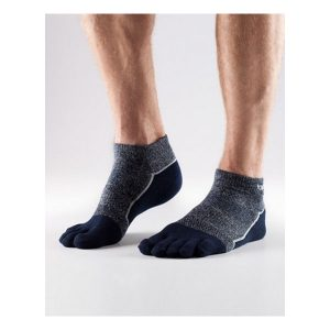 Toesox_MediumWeight Ankle_Navy Blue