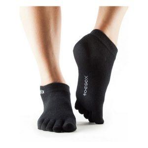 Toesox_UltraLite Ankle_Black