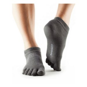 Toesox_UltraLite Ankle_Grey