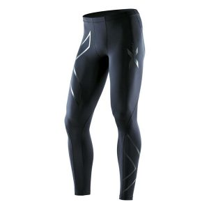 2XU Men's Recovery Compression Tights-Black_Black