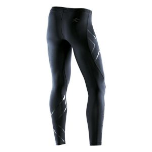 2XU Men's Recovery Compression Tights-Black_Black_1