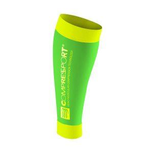 Compressport Compression Calf Sleeve R2 Fluo-Green