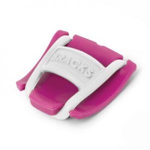 Bracks Colour Pink-White