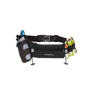 Fitletic Fully Loaded Hydration Belt-Black