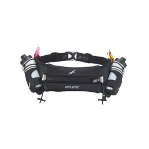 Fitletic Hydration Belt-Striped Black