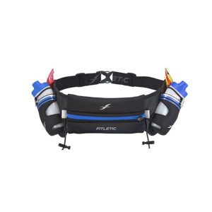 Fitletic Hydration Belt-Striped Blue