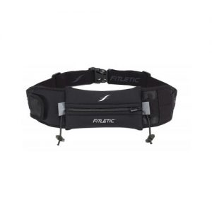 Fitletic Ultimate II Running Belt_Black with Black Zipper