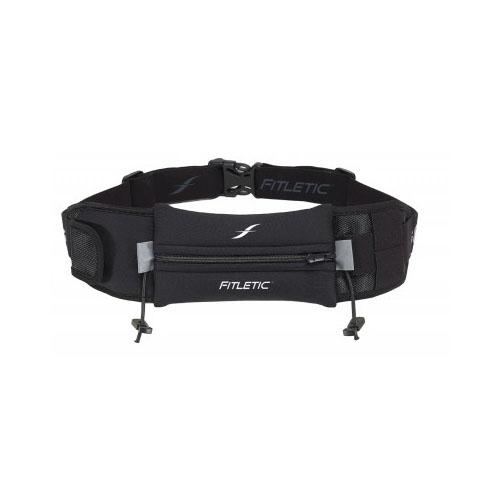 Fitletic Ultimate II Running Belt_Black with Black Zipper