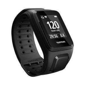 TomTom Spark Cardio+Music GPS Fitness Watch_Black_1