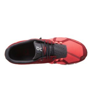 ON Running Men's Cloud Colour Red & Flash_1
