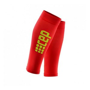 Cep Women's Ultralight Compression Calf Sleeves 2.0_Red-Green