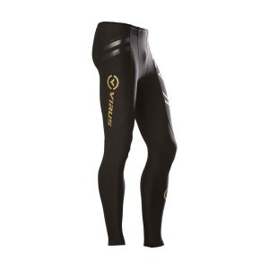 VIRUS Men's Energy Series Bioceramic Compression V2 Tech Pants (Au9)_Black