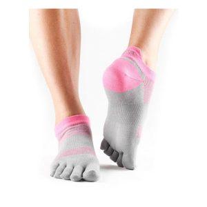 Toesox Lolo Sport Socks_4AM Flush
