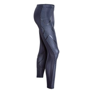 2XU Men's TR2 PTN Compression Tights_Black-Carbon Fibre