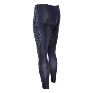 2XU Men's TR2 PTN Compression Tights_Black-Carbon Fibre_1