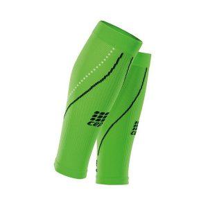 Cep Men's Pro+ Night Compression Calf Sleeves 2.0_Flash Green-Black