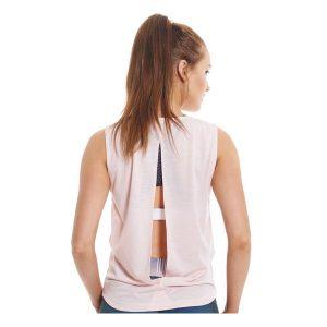 JAGGAD Women's Pink Muscle Tank_1