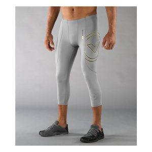VIRUS Men's Stay Cool 3-4 Length Compression Boot Cut V3_Gray