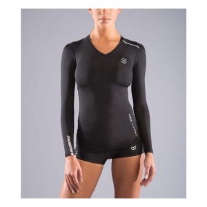 VIRUS Women's Stay Cool Long Sleeve X-Form Compression_Black_1