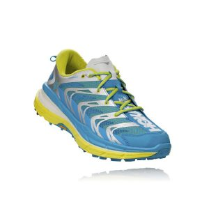 Hoka one one Men's SPEEDGOAT_Cyan-Citrus