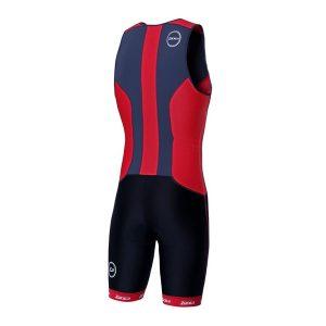 Zone3 Men's Aquaflo+ Trisuit Black-Red_2