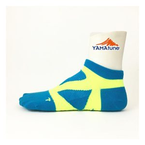 yamatune-spider-arch-sports-socks-minicrew-turquoise-yellow