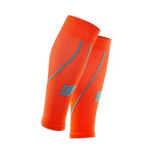 Cep Men's Compression Calf Sleeves 2.0_Sunset-Hawaii Blue