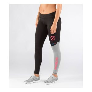 Virus Women's Stay Cool Eco21 Compression Pant_Black-Coral