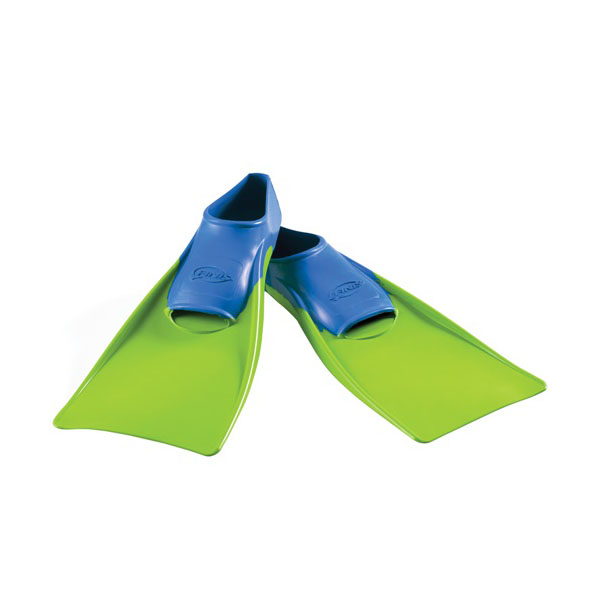 FINIS Floating Fins  Blue-Lime Green_XXXS