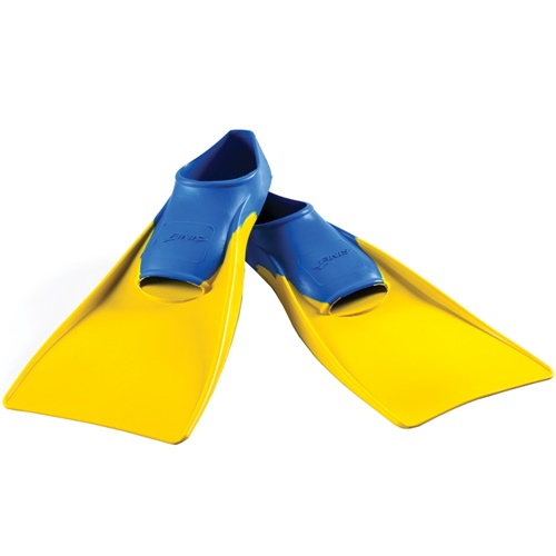 FINIS Floating Fins_Blue-Yellow_XSmall