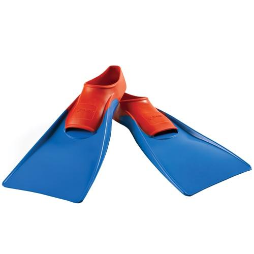 FINIS Floating Fins_Red-Blue_Medium