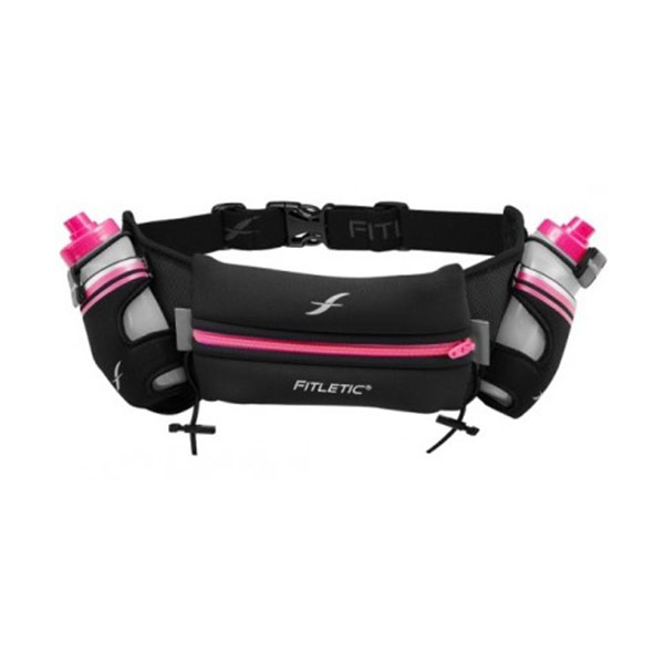 Black with Pink Sides/Pink Zipper