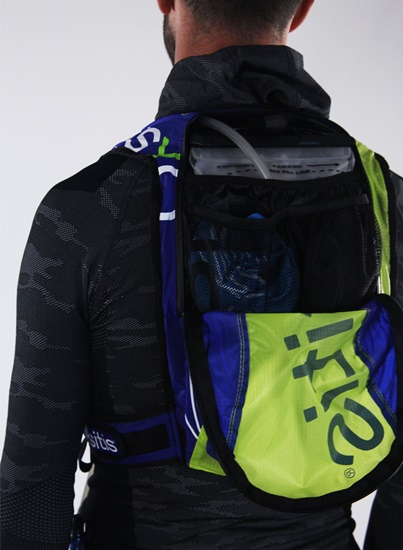 Oxsitis Hydration backpack HYDRAGON Pulse 7L_Blue-Yellow-White-5