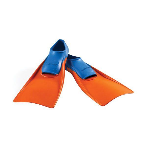 FINIS Floating Fins  Blue-Orange_XXS