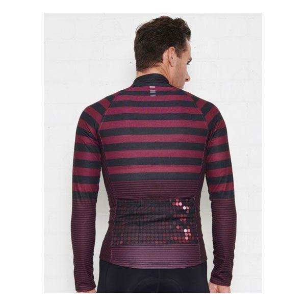 JAGGAD Little Big Stripe Long Sleeve Jersey_Cabernet_3