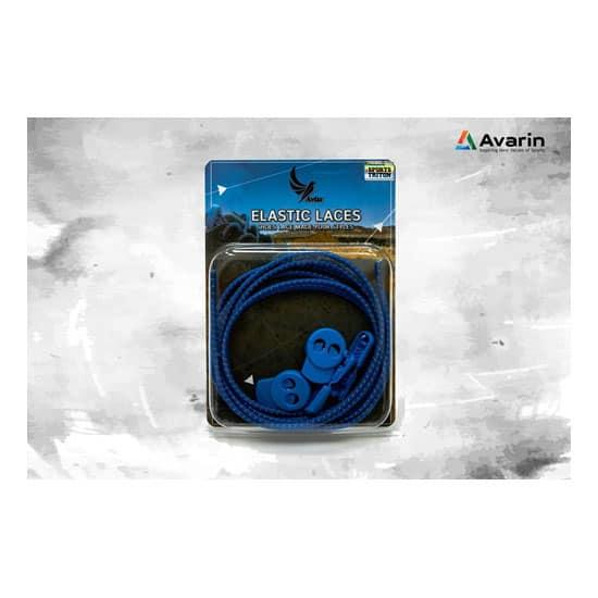 Aviss Reflective Lock Laces Royal Blue
