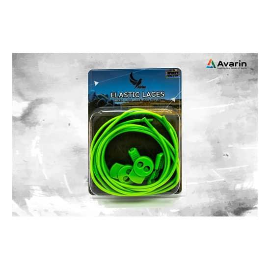 Aviss Regular Lock Laces Neon Green