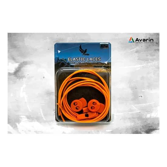 Aviss Regular Lock Laces Neon Orange
