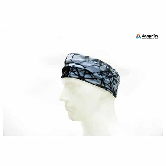 Fitletic Multiscarf Marble Print Black_3