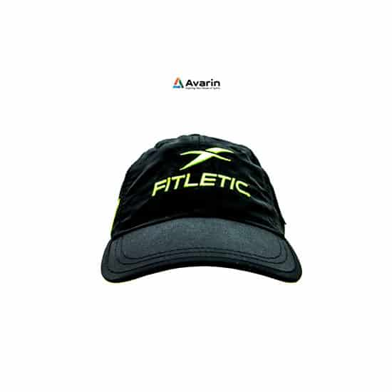 Fitletic Race Hat Black-Green_1
