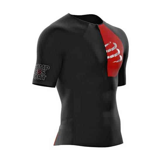 Compressport-Triathlon-Postural-Aero-SS-Top-Black