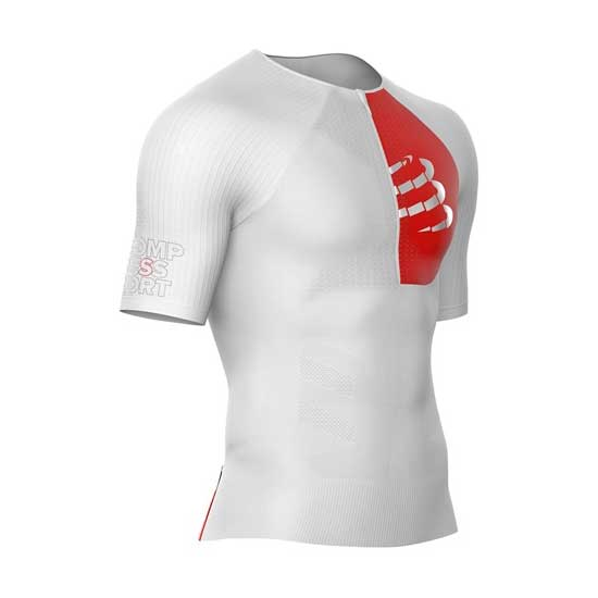 Compressport-Triathlon-Postural-Aero-SS-Top-White